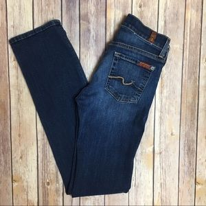 [7 For All Mankind] Straight Leg 5 Pocket Jeans